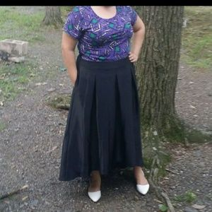 Boutique high low skirt 18W